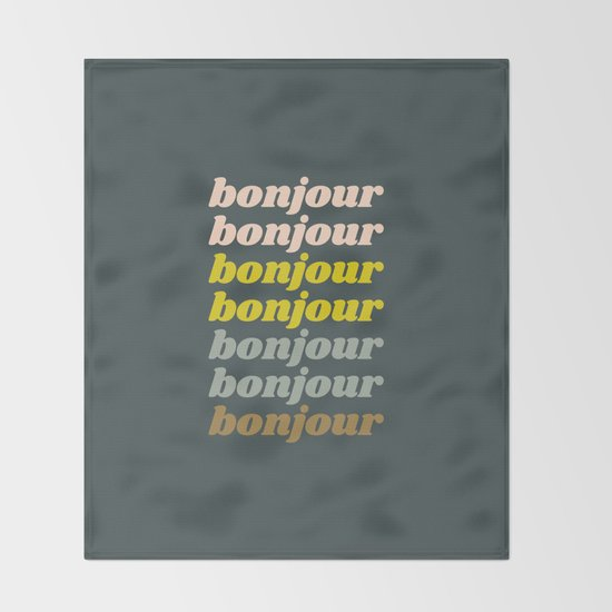 Bonjour in Pretty Pastels by junejournal