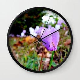 Automn's flower Wall Clock