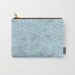 Sky Blue Spray Plaster Texture Carry-All Pouch