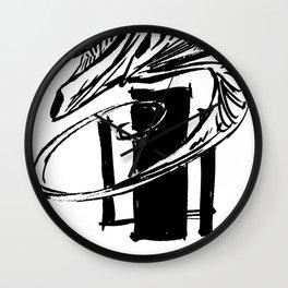 crackhead b/w Wall Clock