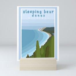 Sleeping bear dunes Michigan  Mini Art Print