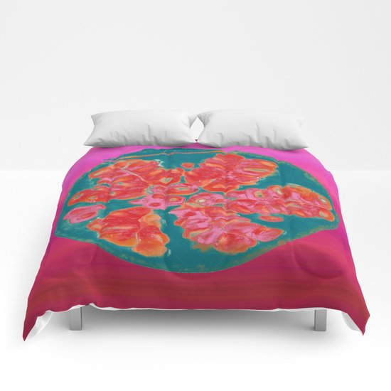 Pomegranate Comforters
