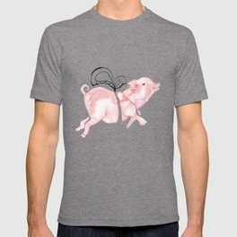 Piggie with Wings T-shirt