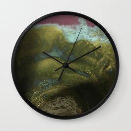 blue rush Wall Clock