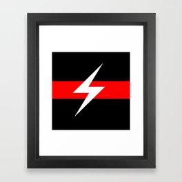 Throbbing Gristle Logo Framed Art Print
