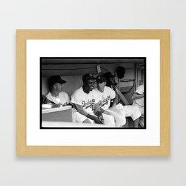 Jackie Robinson Framed Art Print