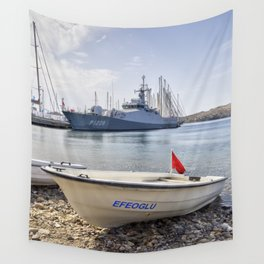 When I Grow Up I Want To Be A Warship Wall Tapestry