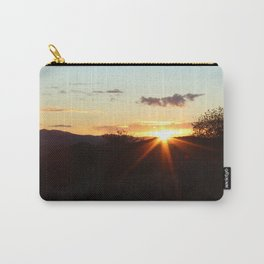 Black sunset Carry-All Pouch