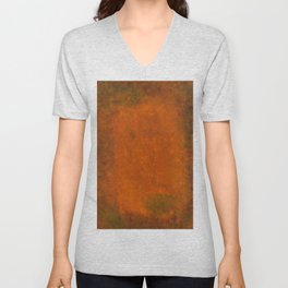 Weathered Copper Texture Unisex V-Neck