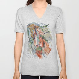 in the waterweeds Unisex V-Neck