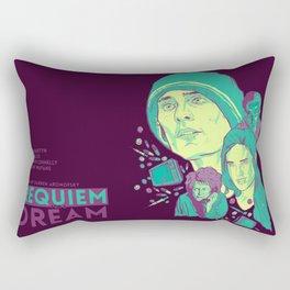 Requiem For A Dream Rectangular Pillow