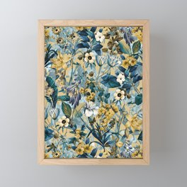 Summer Botanical Garden III Framed Mini Art Print