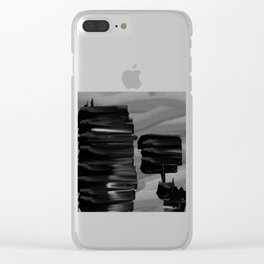 Dark tension Clear iPhone Case