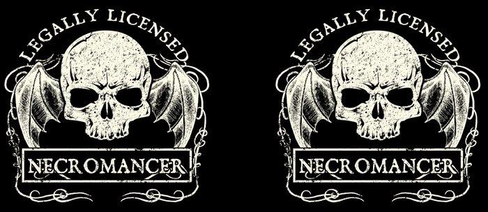 Legally Licensed Necromancer Coffee Mug