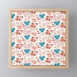 Koala Floral Gum Tree Fun Collection 1 Framed Mini Art Print