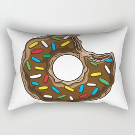 You can't buy happiness but chocolate donut Rectangular Pillow