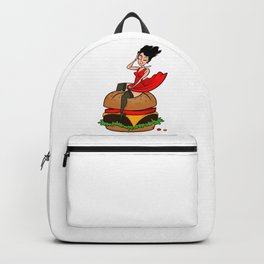Hamburger Hottie Backpack
