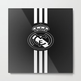 Real Madrid C F : Royal Madrid Football Club Metal Print
