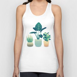 Potted Plants Unisex Tank Top
