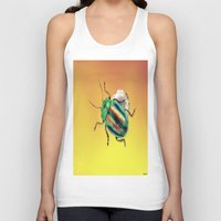 beetle Tank Tops featuring Beetle by Ganech joe