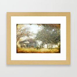 The Front Porch Framed Art Print
