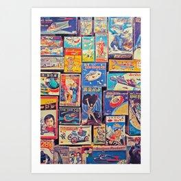 Toy Warp Art Print