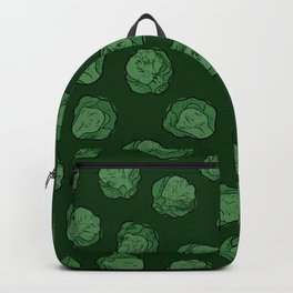 Brussels Sprouts Pattern Backpack