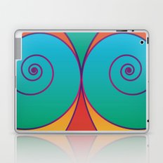 Swirly pretty thingies of goodness Laptop & iPad Skin