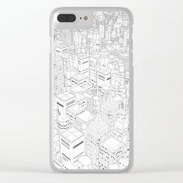 Metropolis Clear iPhone Case