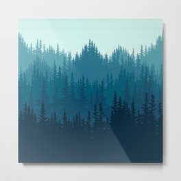 Presence of Pines Metal Print