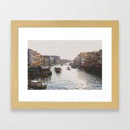 The Grand Canal Framed Art Print