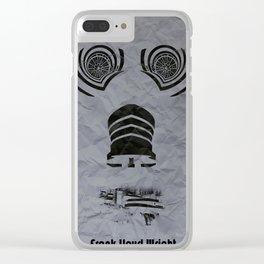 Frank Lloyd Wright Clear iPhone Case