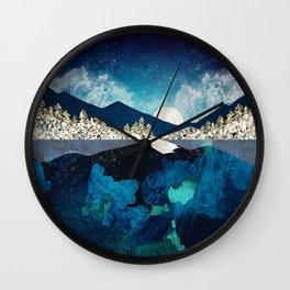Midnight Water Wall Clock