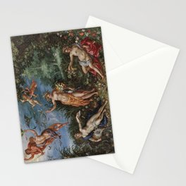 Abundance and the Four Elements , 1606 Stationery Cards