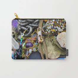 Jewelry Cluster 3 Carry-All Pouch