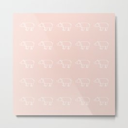 Origami_04 Metal Print
