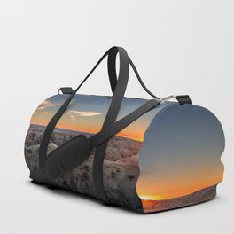 South Dakota Sunset - Dusk in the Badlands Duffle Bag