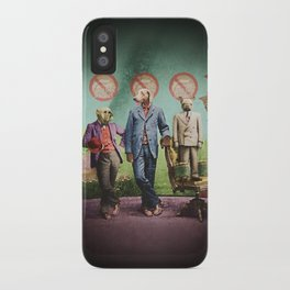 The Three Distinguished Members of the Committee to Handle the Squirrel Problem iPhone Case