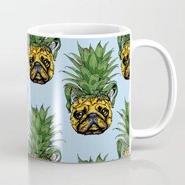 Pineapple French Bulldog Coffee Mug