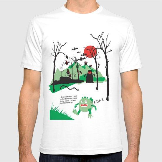 Arnie was just too round... T-shirt
