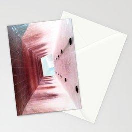 upside down (negative) Stationery Cards