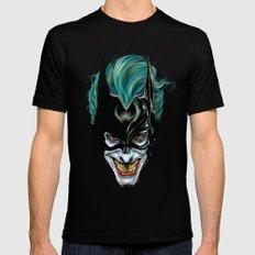 Joker - Darkest Knight  Mens Fitted Tee Black LARGE