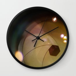 Taking a Picture Wall Clock