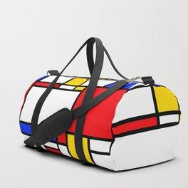 Piet Pattern Duffle Bag