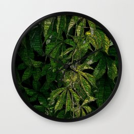 Going Green Wall Clock