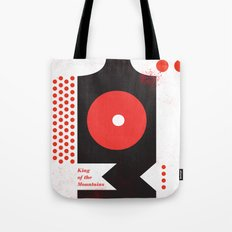 King of the Mountains, Abstract 1 Tote Bag