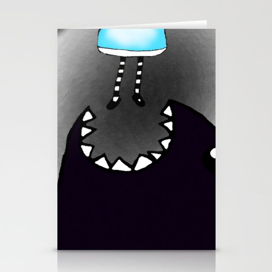 Monster. Stationery Cards
