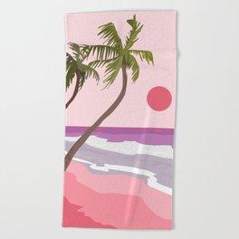 Tropical Landscape 01 Beach Towel