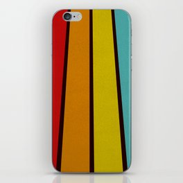 Retro Lines iPhone Skin