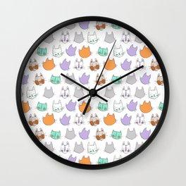 Kolor Kats Wall Clock